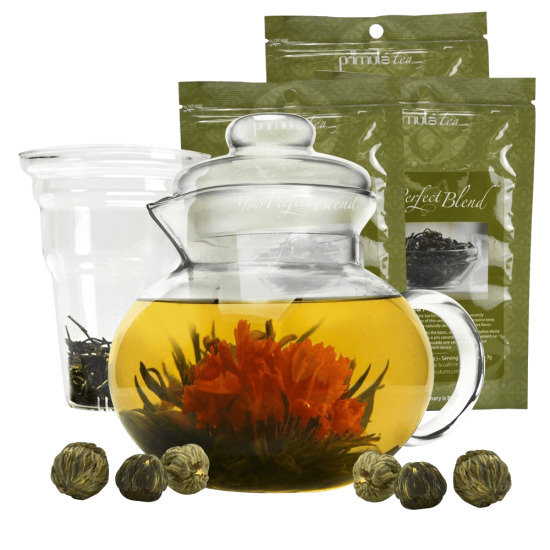 Primula Flowering Tea Set...